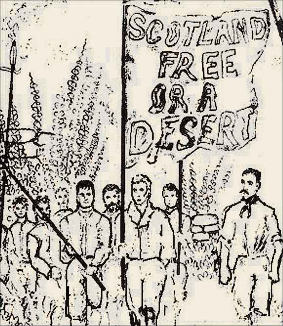 Lịch sử phong trào nghiệp đoàn ở nước Anh – Kỳ 3: Cuộc tổng đình công năm 1820 ởScotland