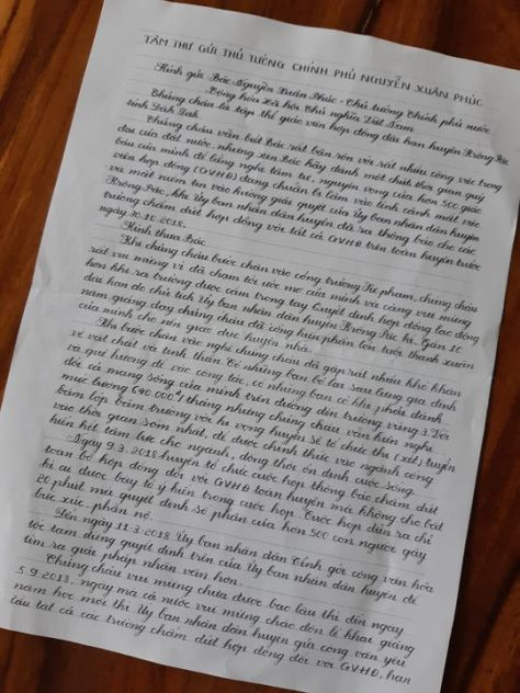 """Bức """"tâm thư"""" đẫm nước mắt gửi Thủ tướng của 500 giáo viên mấtviệc"""