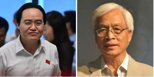 Trưng cầu dân ý phế truất Phùng Xuân Nhạ và bầu giáo sư Chu Hảo lên làm bộ trưởng bộ quốc gia giáodục