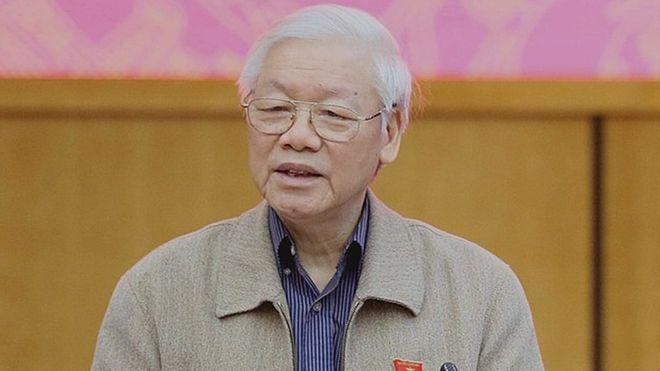 Chủ tịch nước Nguyễn Phú Trọng phát biểu hôm 24 tháng 11 năm 2018 với người dân