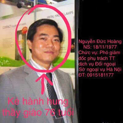 Hà Nội: tìm được kẻ hành hung giảng viên già của đại học BáchKhoa