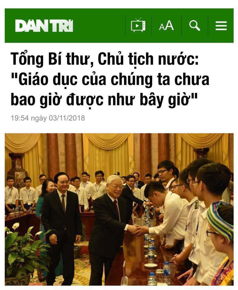 Cô giáo Nguyễn Thị Thái Lai: viết cho ngày hiến chương các nhàgiáo