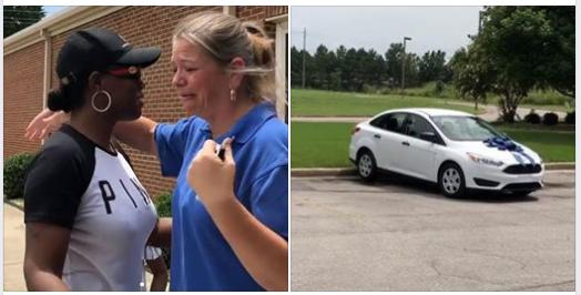 Phụ huynh Mỹ tặng xe hơi cho cô giáo dạy conmình