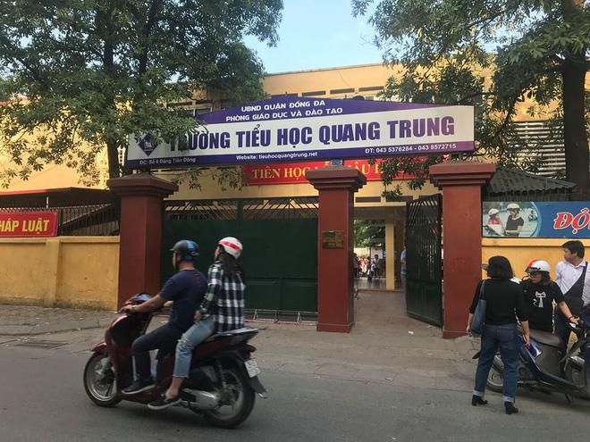 Nhà trường tiếp tục dối trá về 50 cái tát ở HàNội