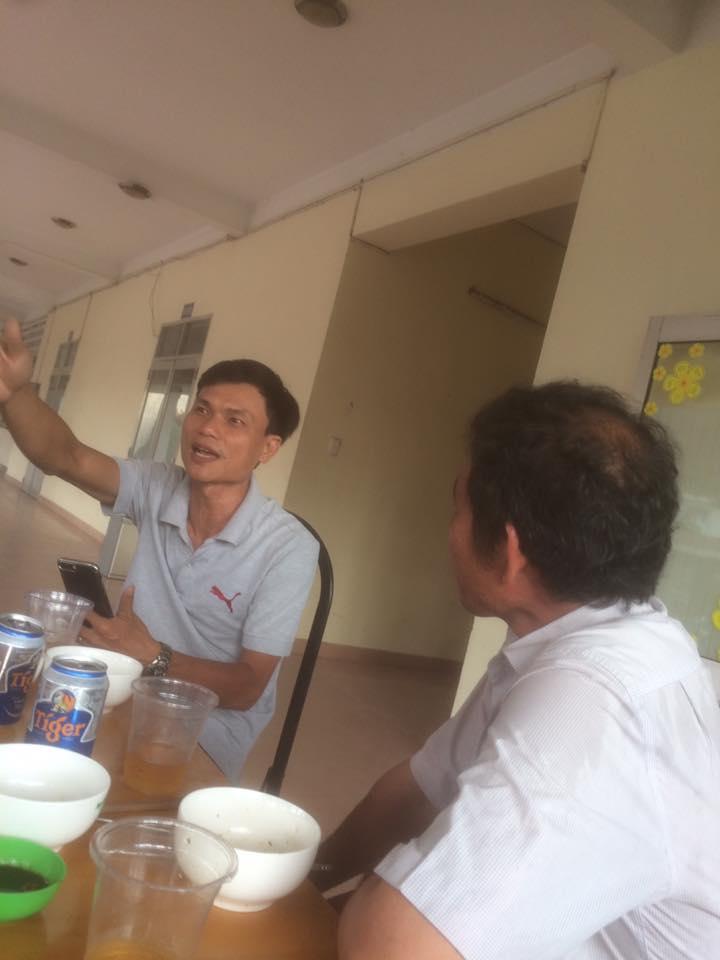 Thầy giáo Đặng Minh Thống: Tôi sẽ không lên họp vì trong giấy mời không ghi rõ nội dunggì