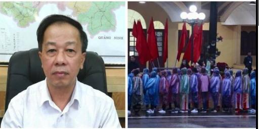 Chân dung giám đốc sở giáo dục bắt học sinh đội mưa đón lãnh tụ nướcngoài