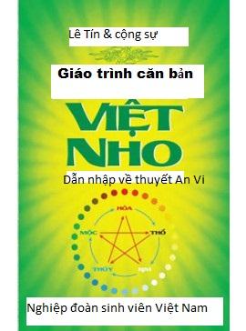 Giới thiệu Giáo trình Việt Nho căn bản- Dẫn nhập vào thuyết AnVi