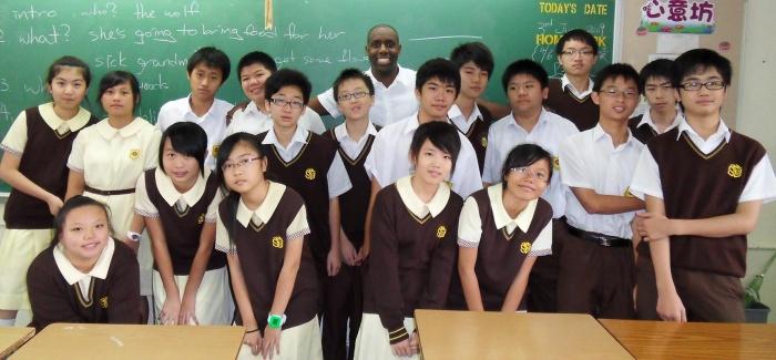 Học tập về nghệ thuật tự do ở chương trình trung học ở HồngKông