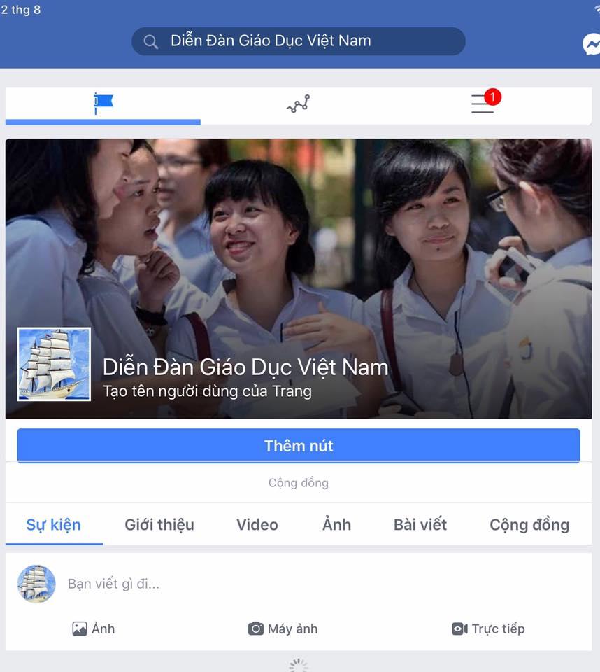 Giới thiệu Diễn đàn giáo dục ViệtNam